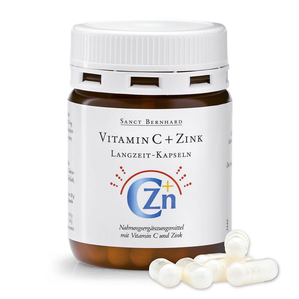 Viên nang tăng đề kháng vitamin C và kẽm Vitamin C Zinc Slow Release Capsules