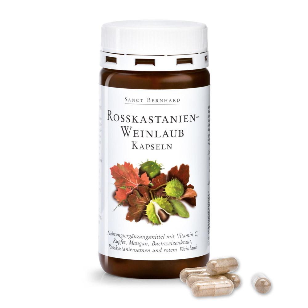 Viên nang suy giãn tĩnh mạch chiết xuất hạt dẻ ngựa Horse Chestnut Vine Leaf