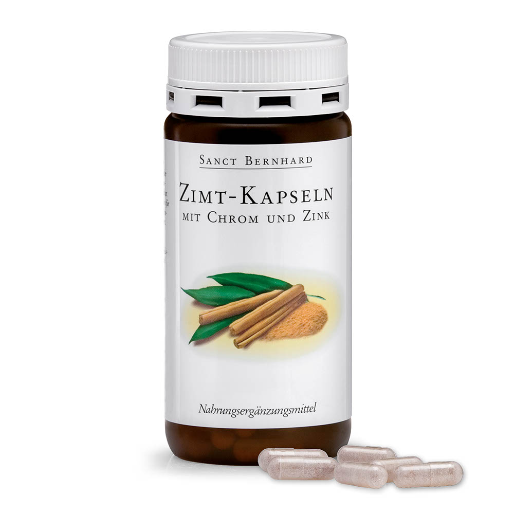 Viên nang hỗ trợ tiểu đường chiết xuất quế crom và kẽm Cinnamon Capsules