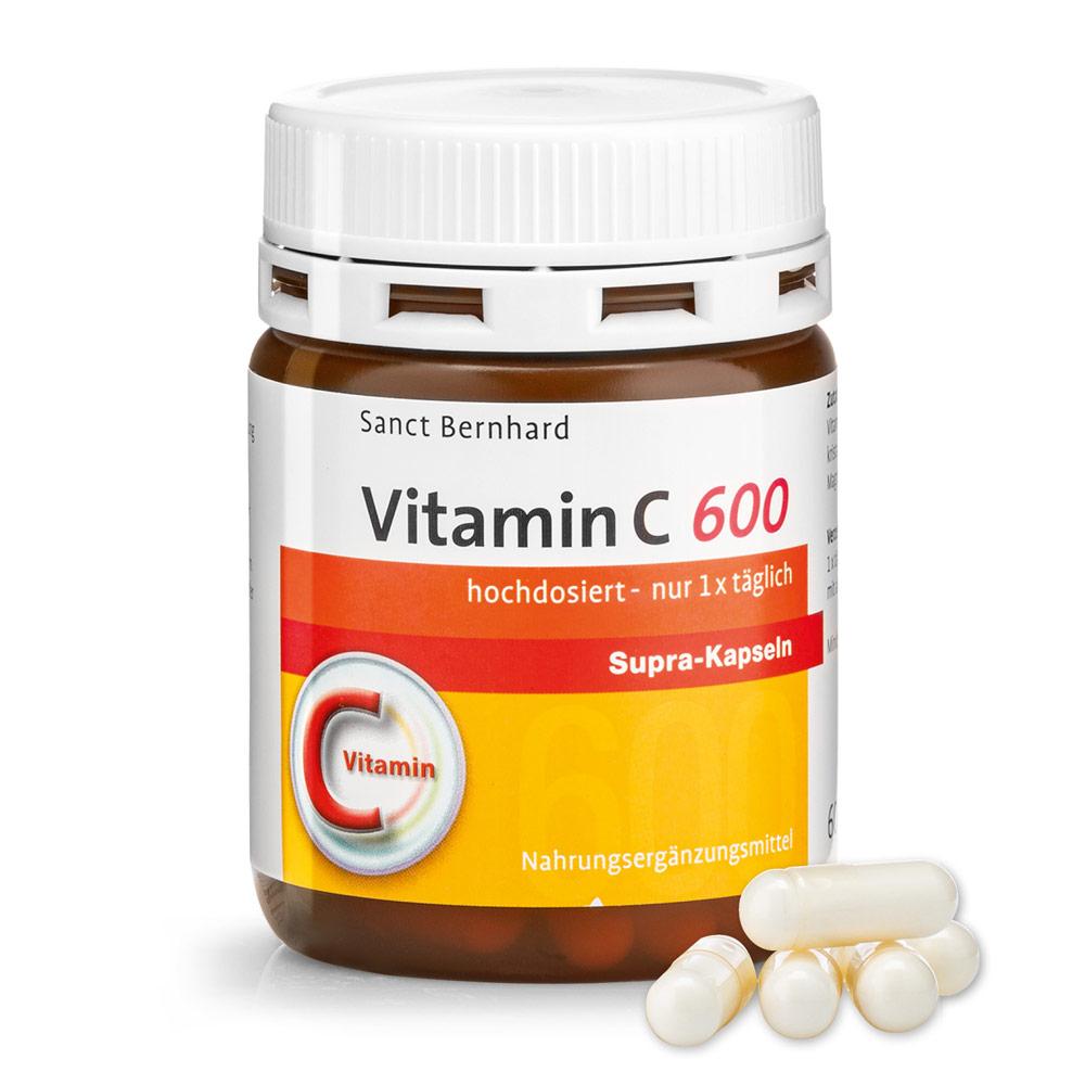 Viên nang bổ sung Vitamin C 600 Supra Capsules