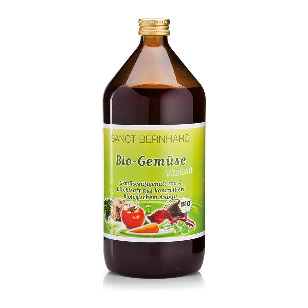 Nước ép hoa quả và rau xanh Sanct Bernhard Organic Vegetable Juice