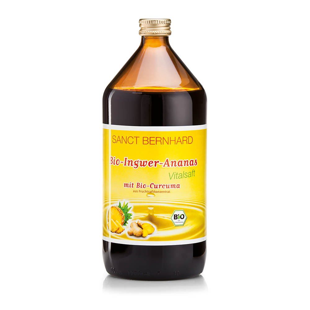 Nước ép gừng và dứa Sanct Bernhard Organic Ginger & Pineapple Juice