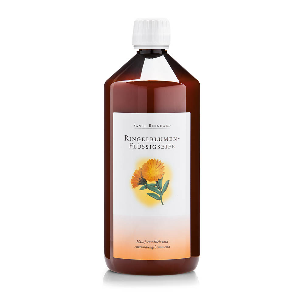 Sữa tắm cúc vạn thọ Sanct Bernhard Marigold Liquid Soap 1l