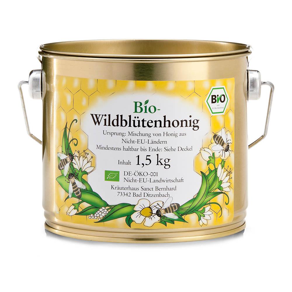 Mật ong hoa dại hữu cơ Organic wild flower honey