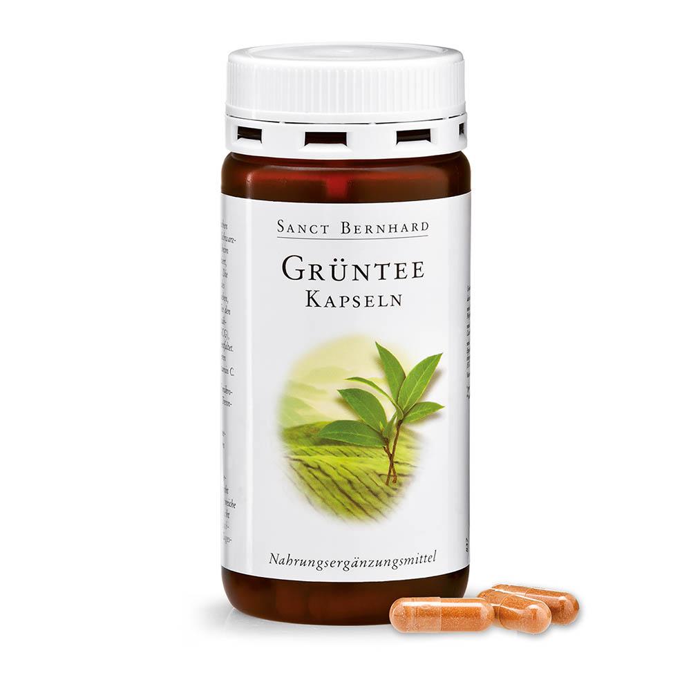 Viên nang tăng đề kháng tinh chất trà xanh Green Tea Capsules
