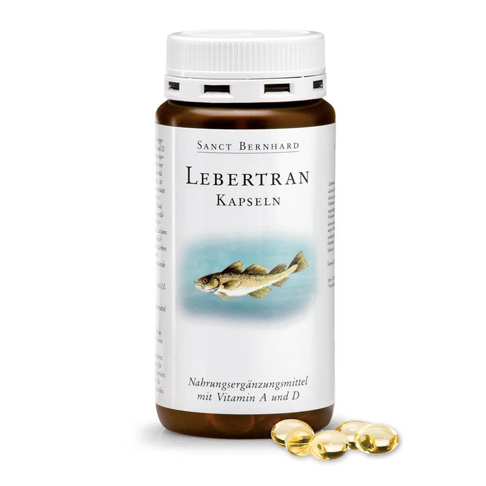 Viên nang bổ mắt dầu gan cá Cod Liver Oil Capsules