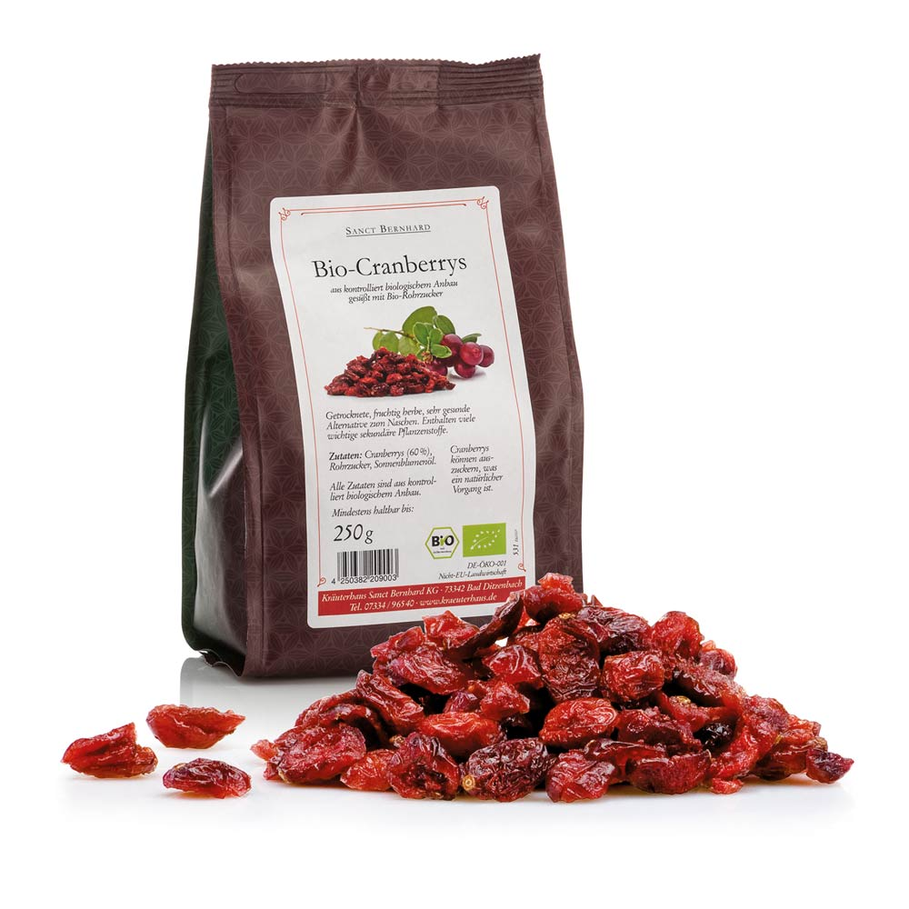Mứt quả nam việt quất Bio Cranberrys