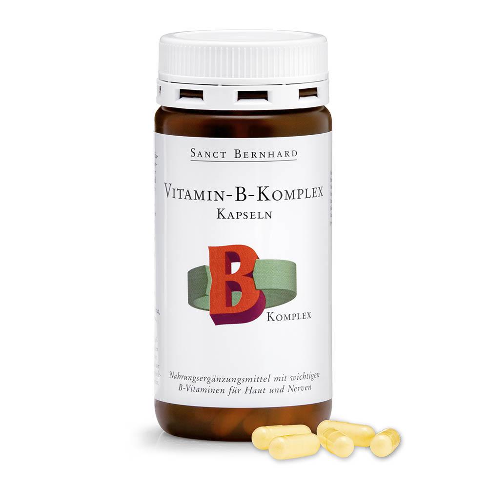 Vitamin B Complex Capsules bổ trợ hệ thần kinh