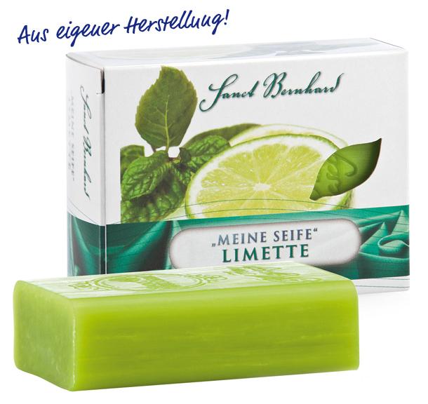 Xà phòng dưỡng ẩm sạch da Sanct Bernhard Lime